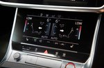 Audi S6 Avant lower touchscreen