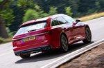 Audi S6 Avant rear