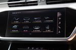 Audi S6 Avant upper touchscreen