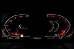 BMW 1 Series 2019 LHD instrument cluster detail