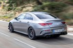Mercedes-AMG CLA 45 S 2019 rear left tracking