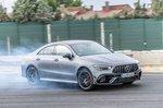 Mercedes-AMG CLA 45 S 2019 front drift mode