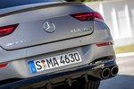 Mercedes-AMG CLA 45 S 2019 rear end detail