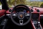 2019 718 Boxster Spyder LHD instrument panel