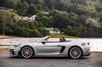 2019 718 Boxster Spyder LHD left static