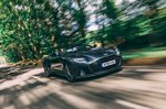 Aston Martin DBS Volante 2019 front right panning