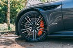 Aston Martin DBS Volante 2019 left front wheel detail