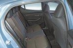 Mazda 3 rear seats