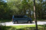 Volkswagen California right panning