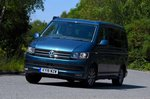 Volkswagen California 2019 front left tracking shot