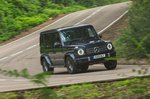 Mercedes G-Class 2021 right side cornering