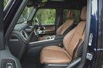 Mercedes-Benz G-Class 2019 RHD front seats