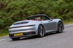 Porsche 911 2019 UK rear right tracking