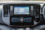 Nissan e-NV200 infotainment screen