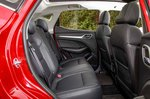 MG ZS Electric 2019 RHD rear seats