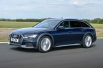 Audi Allroad 2019 RHD front tracking