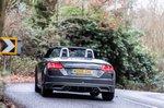 Audi TT Roadster 2019 right rear cornering
