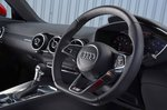Audi TT Coupe 2019 RHD dashboard detail