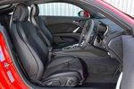 Audi TT Coupe 2019 RHD front seats