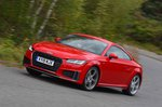Audi TT Coupe 2019 RHD wide cornering