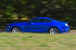 Ford Mustang Coupe 2019 left panning