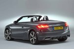 Audi TT Roadster 2019 RHD rear left static
