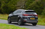 Kia Sportage 2019 RHD rear left cornering