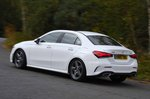 Mercedes A Class Saloon 2019 rear left tracking