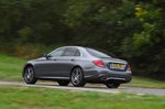 Mercedes-Benz 2019 E-Class saloon rear left tracking