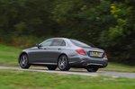 Mercedes-Benz 2019 E-Class saloon rear left tracking