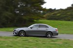 Mercedes-Benz 2019 E-Class saloon left side tracking