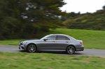 Mercedes-Benz 2019 E-Class saloon left side tracking