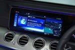 Mercedes-Benz 2019 E-Class saloon RHD infotainment
