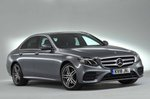 Mercedes-Benz 2019 E-Class saloon front right static studio