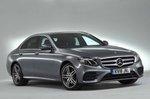 Mercedes-Benz 2019 E-Class saloon front right static studio