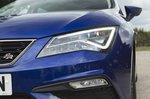 Seat Leon Estate 2019 RHD headlamp detail