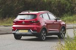 MG ZS Electric 2019 rear left cornering