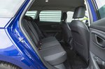 Seat Leon Estate 2019 RHD rear seats