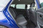Seat Leon Estate 2019 RHD rear seats