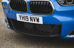 BMW X2 M35i 2019 front grille detail