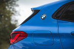BMW X2 M35i 2019 right pillar detail