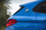 BMW X2 M35i 2019 right pillar detail