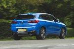BMW X2 M35i 2019 RHD rear right cornering