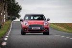 Mini Clubman 2019 RHD front head-on tracking