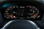 BMW M135i xDrive 2019 RHD instrument cluster detail