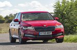 Skoda Superb 2021 RHD front left cornering