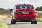 Skoda Superb 2019 rear tracking