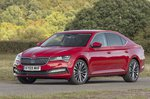Skoda Superb 2021 RHD front left static