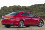 Skoda Superb 2021 RHD rear right static