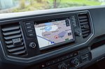 Volkswagen e-Crafter infotainment screen
